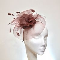 Soft Aubergine Wedding Hatinator SN1012 and SN1180